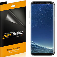 2x Supershieldz HD Clear Full Cover Screen Protector for Samsung Galaxy S8 Plus