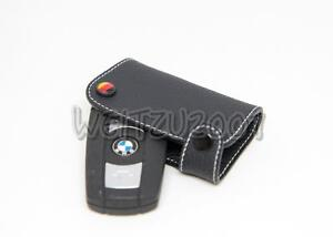 Yellow color leather Key Case for BMW E60 E61 E87 E90 E91 E92  E93