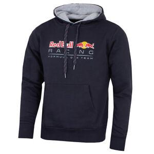 Puma-Red-Bull-F1-Racing-Team-2018-Men-039-s-Pullover-Hoodie-Jacket-Navy-RRP-115-NEW