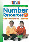 Number Resources for Numeracy Lessons: Year 4 by Annie Owen (Mixed media product, 1999)