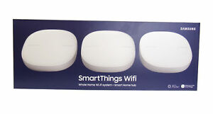 Details about Samsung SmartThings Wifi Whole Home Mesh Wi-Fi System + Smart  Home Hub (3 Pack)