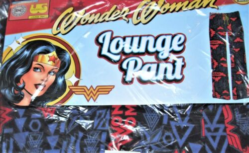 Details about  /DC Comics Wonder Woman Logo Soft 100/% Cotton Jersey Lounge Pants Size Juniors S
