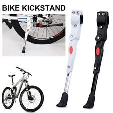 Heavy Duty Adjustable Mountain Bicycle Cycle Prop Side Rear Kick Stand White