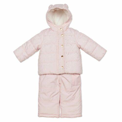 12m 18m NWT Carter/'s Boys/' Orange-Gray Girls/' Pink 2pcs Snowsuit Bib Pants Size