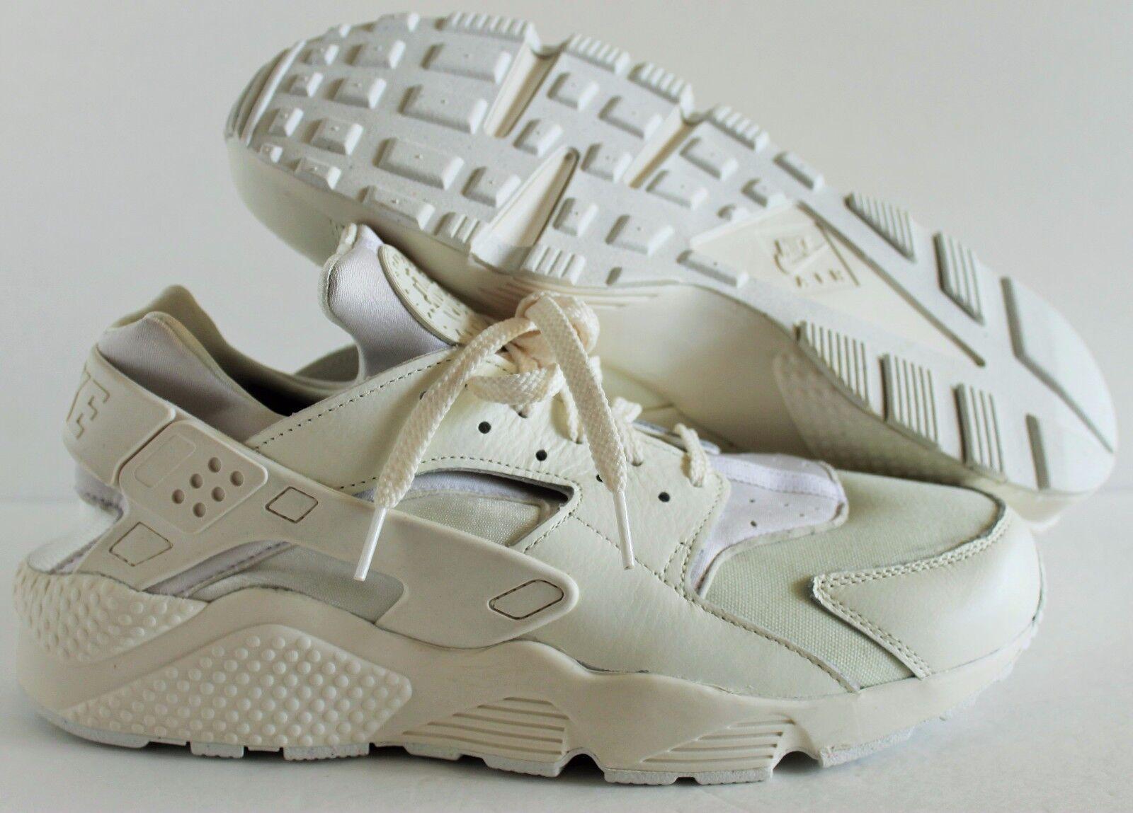 Nike Men's Huarache Premium ID Off-White SZ 12 Shoes  [836138-993]