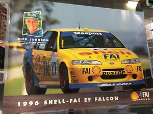 DICK-JOHNSON-3-TIMES-BATHURST-WINNER-1996-SHELL-FAI-EF-FALCON-POSTER