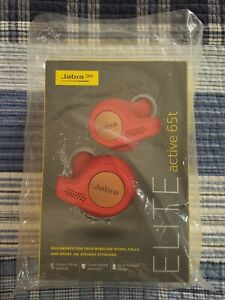 Jabra Elite Active 65t Earbuds Copper Red Brand New Ebay