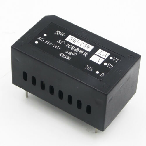 AC 220V to 3.3V 650mA AC-DC Switch Power Supply Module 2.5W Isolated Power