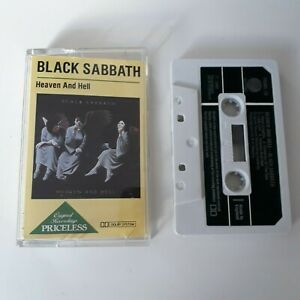 BLACK-SABBATH-HEAVEN-AND-HELL-CASSETTE-TAPE-1983-PAPER-LABEL-VERTIGO-UK