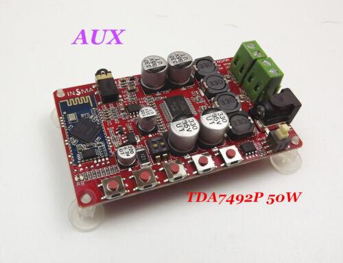 TDA7492P 50W /& 50W Wireless Bluetooth 4.0 Audio Receiver Digital Amplifier Board