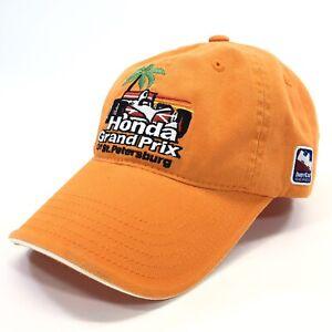 Honda-Grand-Prix-of-St-Petersburg-Indy-Car-Racing-Hat-Baseball-Cap-Orange
