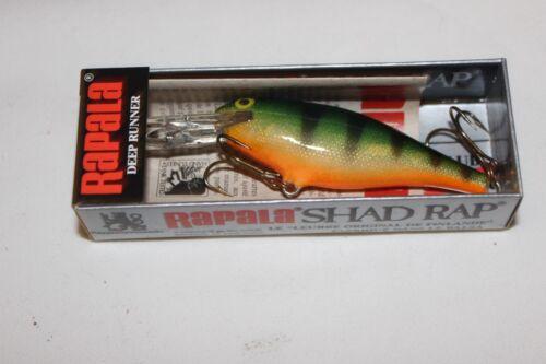 "RAPALA WOBBLER-/""SHAD RAP-SR-7 P/""-DEEP RUNNER-7cm-MADE IN IRELAND"