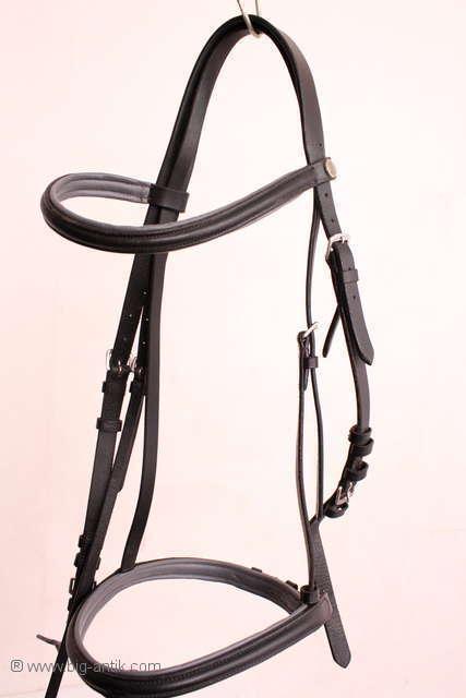 Reitsport   PferdeTrense aus Leder   Stirnriemen   Nr. 12