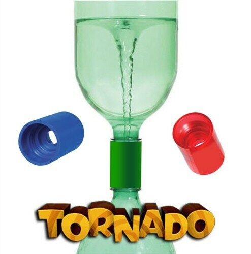 Cyclone Tube Tornado Vortex in a Bottle Water Science Experiment Kids Sensory OT