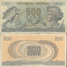 """500 LIRE """" TESTA DI ARETUSA"""" DEC. 20 OTTOBRE 1967"""