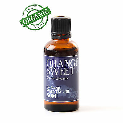 Mystic Moments Orange Sweet Organic Essential Oil - 50ml (CO50ORANSWEE)