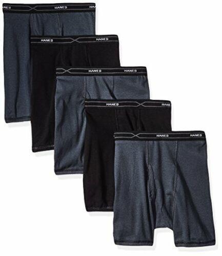 Bottoms Mens 5-Pack X-Temp Comfort Cool Hanes Red Label Underwear