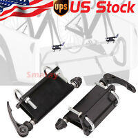 2-pack Bicycle Block Quick Release Fork Mounts For Pickup Truck Bed Rack Carrier
