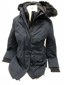 f7bf5334386 Details about Ugg Australia Adirondack Parka 1017640 Toscana Hooded 3 in 1  Removeable Vest Nav