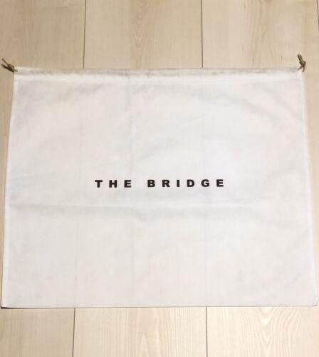 Muy grande the Bridge bolsa bolso dustbag caballero mujer nuevo blanco