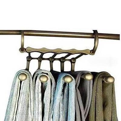 Shirt Trousers Pants Denim Jeans Scarf Coat Hanger Hook Clothes Rack Organizer