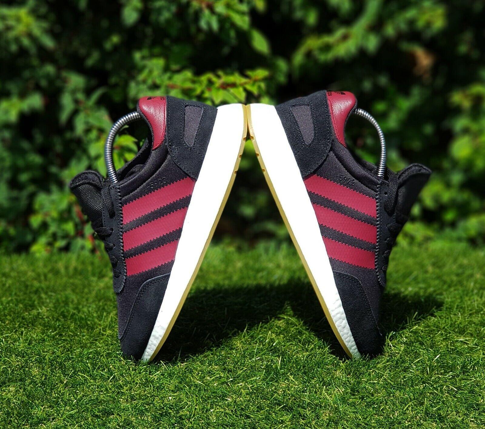 BNWB & Auténtico Adidas Originals ® I-5923 Boost ™ Iniki Retro Entrenadores UK Talla 9