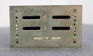 VEM-NUMERIK-RFT-DDR-Einschub-Kassette-KGB-B8-gebraucht-voll-funktionsfaehig-ok