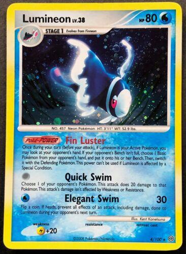 Pokemon Card Lumineon LV.38 Stormfront 4//100 NEAR MINT Holo Rare TCG!!!!!!!!!!!!