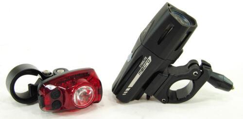 Cygolite Metro Plus 800 Hotshot Pro 150 Bike Head /& Tail Light Combo Set USB