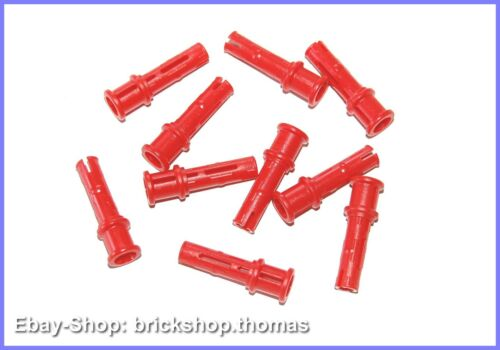 32054 NEU//NEW Connector Pins Red Lego Technic 10 x Verbinder mit Stop rot