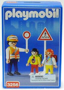 SCHÜLERLOTSE + ABC SCHÜTZEN Playmobil 3256 v.`01 zu City Schule Kinder OVP NEU !