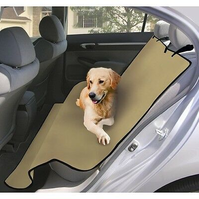 Waterproof Pet Seat Cover Dog Car SUV Van Interior Upholstry Couch Universal NEW