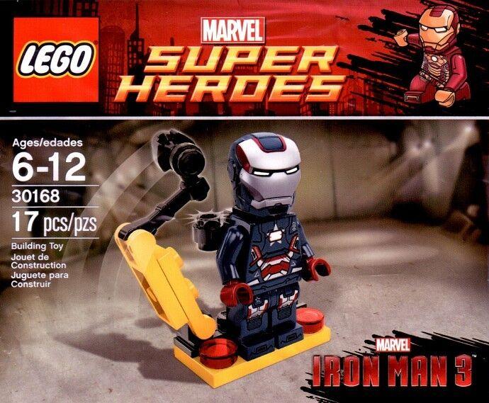 LEGO Super Heroes Marvel Avengers Iron Man3  Iron Patriot 30168