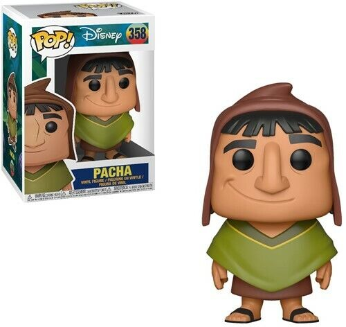 Funko Pop DISNEY the EMPEROR/'S NEW GROOVE Pacha Vinile PERSONAGGIO IN BOX #358