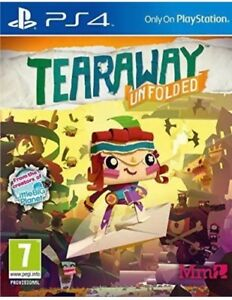 TEARAWAY-UNFOLDED-PLAYSTATION-4-PS4-BRAND-NEW-amp-SEALED-UK-PAL