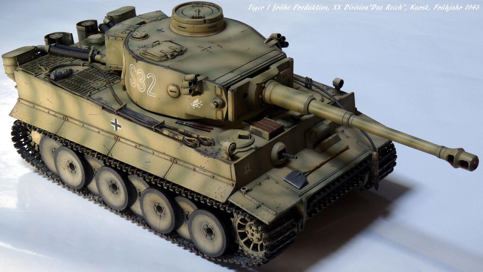 Panzer VI, Tiger 1, Ausf.E, frühe Produktion, 1 16, gebaut  | New Listing