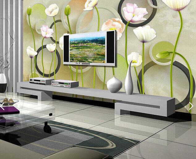 3D Flowers 4068 WandPapier Murals Wand Drucken WandPapier Mural AJ Wand UK Carly