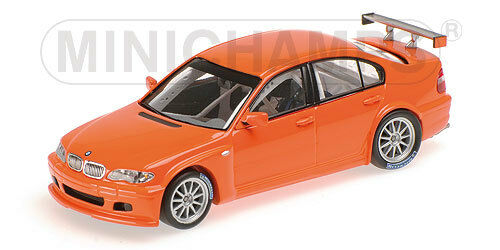 Minichamps BMW 320i (E46 4) Street Version Year 2005 orange 1 43