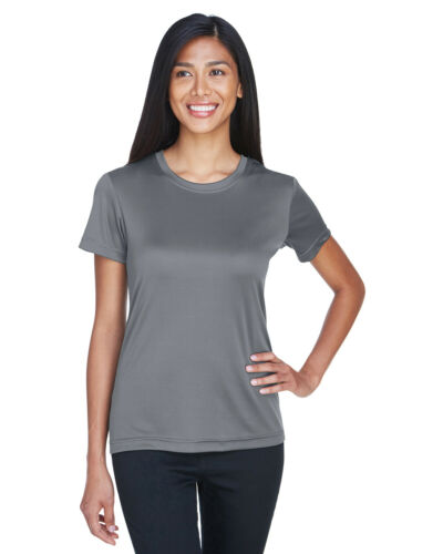 Details about  /UltraClub Ladies Cool /& Dry Basic Performance T-Shirt 8620L 100/% Polyester S-3XL