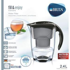 BRITA-Elemaris-Cool-MAXTRA-Plus-2-4L-Water-Filter-Fridge-Jug-Cartridge-Black