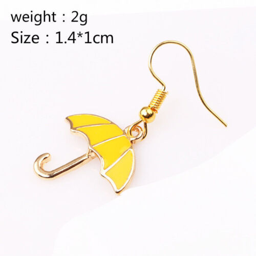 A Pair Yellow Earring  How I Met Your Mother Yellow Umbrella Earring Ear Hook