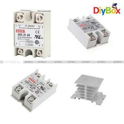Aluminum Heat Sink for Solid State Relay SSR Small Type Heat 10A-40A K