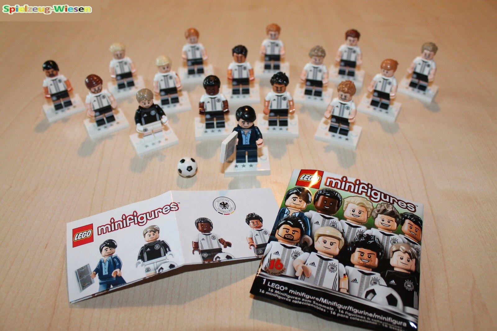 LEGO® 71014 DFB Die Mannschaft Komplett Set - alle 16 Figuren - NEU in OVP -