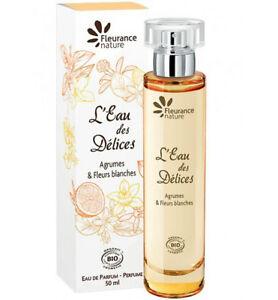 Eau Parfum DélicesbioNeuf Agrumes De Des Femme 50ml L'eau 8wkXZNOn0P