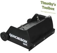 Tapetech Quickbox 65 Drywall Flat Finishing Box For Hot Mud Qb06 Qsx New