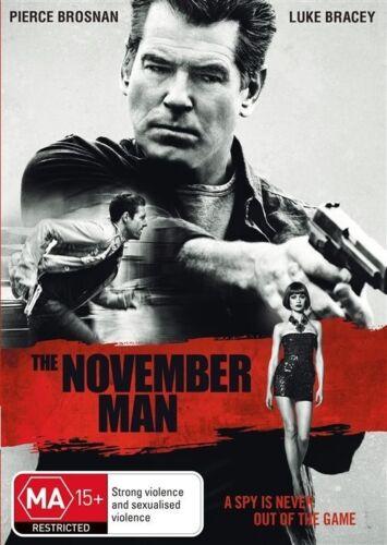 1 of 1 - The November Man (DVD, 2015) Pearce Brosnan Very Good  Region 4