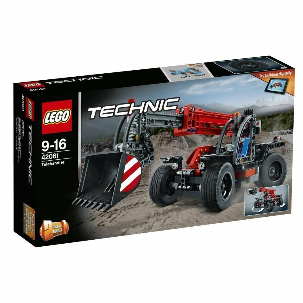 Lego 42061 Technic - Teleskoplader Verpackung 1B
