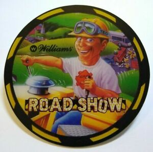Red & Ted Roadshow  road show Pinball machine Promo Original NOS Plastic cut out
