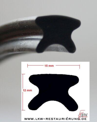 1 m Kederprofil Pufferprofil Gummiprofil Nr.2073.