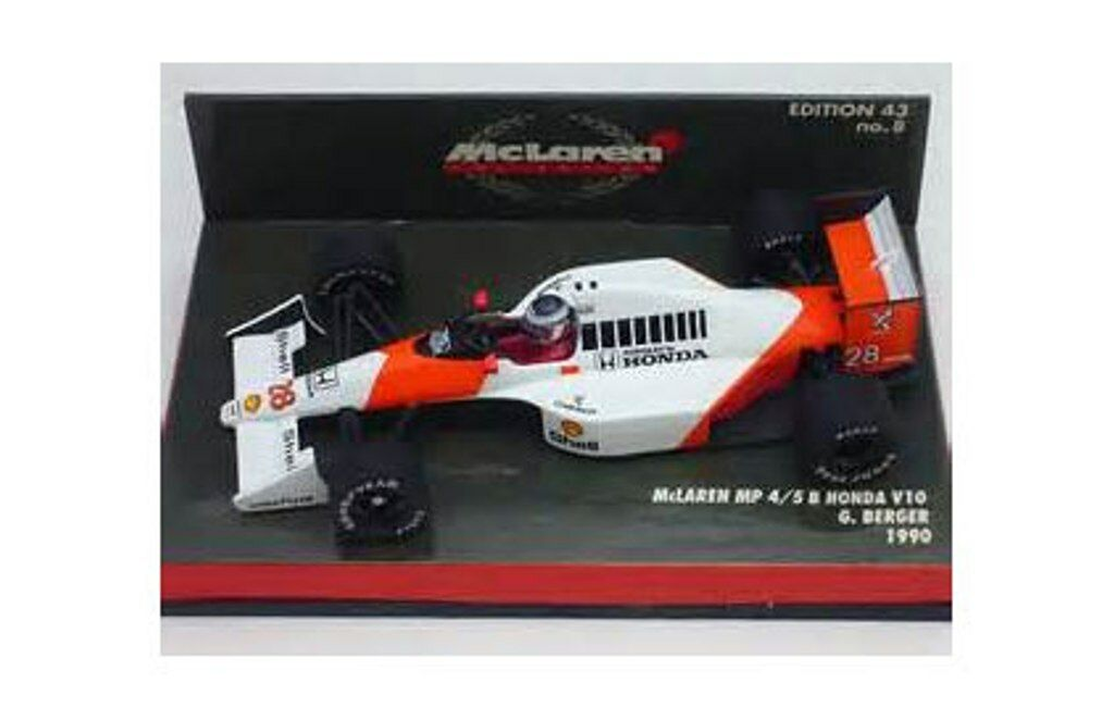 Minichamps 784333 904328 934308 McLaren modello F1CAR Giacomelli Berger SENNA 1 43